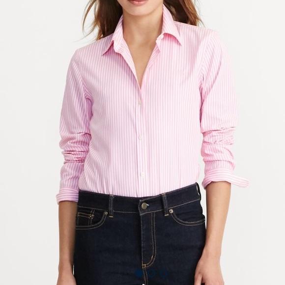 54cdd897ef8b7 Ralph Lauren Pink Pinstripe Shirt